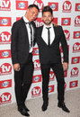 Bobby cole norris and charlie king arriving for the tvchoice awards at the dorchester hotel london picture by alexandra glen Royalty Free Stock Images