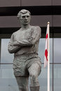 Bobby moore statue outside wembley stadium england Stock Image