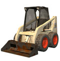Bobcat    bulldozer Royalty Free Stock Photo
