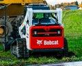 Bobcat bulldozer Royalty Free Stock Photo