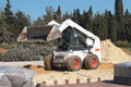 Bobcat Loader Royalty Free Stock Photography