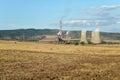 Bobobv Dol thermal power station, Bulgaria Royalty Free Stock Photo