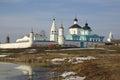 Bobrenev Russian Orthodox monastery in Kolomna Stock Photography