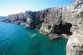 Boca do Inferno at Cascais, Portugal Royalty Free Stock Photo