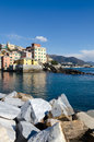 Boccadasse village Royalty Free Stock Photo