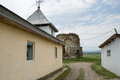 Bociulesti ruins the old church from romania Stock Photo