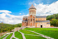 Bodbe monastery sighnaghi of st nino at is a georgian orthodox monastic complex and the seat of the bishops of near Royalty Free Stock Photos