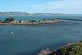 Bodega Bay jetties Royalty Free Stock Photo
