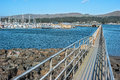 Picture : Bodega Bay marina morning district and
