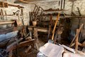 Bodger s workshop traditional bodger's warwickshire england Royalty Free Stock Photography