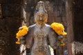 Bodhisattva in castle rock thailand Stock Image
