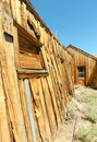 Bodie ghost town, buildings in arrested decay Stock Image