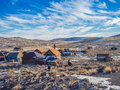 Bodie Ghost Town California State Park . Royalty Free Stock Photo