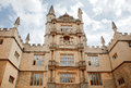 Bodleian library in oxford view of facade Royalty Free Stock Image