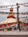 Bodnath Stupa Royalty Free Stock Photo
