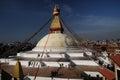 Bodnath Stupa Kathmandu Royalty Free Stock Photo