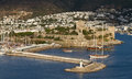 Bodrum castle in aegean turkey Stock Photos