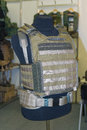 Body armor on the mannequin Royalty Free Stock Photo