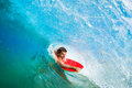 Body Boarder Surfing Royalty Free Stock Photo