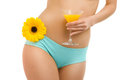 Body flower and juice-1 Stock Image