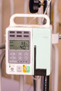Body fluid infusion pump Stock Image
