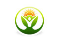 Body, plant, health, botany, natural, ecology, logo, icon, symbol