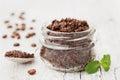 Body Scrub Of Ground Coffee, S...