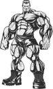 Bodybuilder strict coach