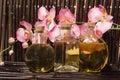Bodycare massage items Royalty Free Stock Image