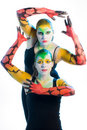 Bodypainting Stock Photography