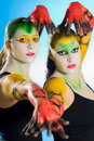 Bodypainting Royalty Free Stock Images