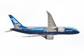 Boeing 787-800 Aircraft Royalty Free Stock Image