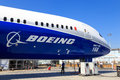 Boeing 787-10 Dreamliner Royalty Free Stock Photo