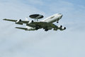Boeing E-3 Sentry AWACS Plane Royalty Free Stock Photo