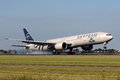 Boeing in sky team amsterdam july royal dutch airlines livery lands at ams on july skyteam is an airline alliance with its Stock Photos