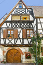 Boersch (Alsace) - House Stock Images