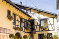 Boersch (Alsace) - House Royalty Free Stock Image