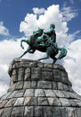 Bogdan Khmelnitsky monument Royalty Free Stock Photography