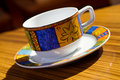 Bohemia coffee cup Stock Photography