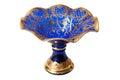 Bohemian glass vase Royalty Free Stock Photo
