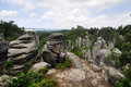 Bohemian paradise (Prachovske skaly) Royalty Free Stock Photo
