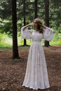 Boho rustic Bride Royalty Free Stock Photo