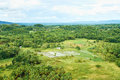 Bohol island phillppines a top view on philippines from chocolate hills complex Stock Images