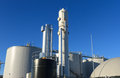 Boigas industrie modern biogas plant in the netherlands using sugar beet pulp as a renewable form of energy production Stock Photos