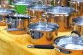 Boil pot  Stock Photo