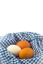 Boiled egg healthy breakfast set with Stock Images