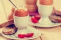 Boiled egg Royalty Free Stock Photo