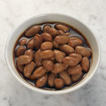 Boiled peanuts braised in soya sauce Royalty Free Stock Photography