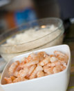 Boiled Prawns Royalty Free Stock Photo