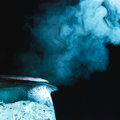 Boiling Tea Kettle Royalty Free Stock Photo